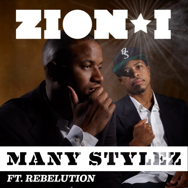 "Here's ""Many STylez,"" the first single off Zion I's Atomic Clock,"
