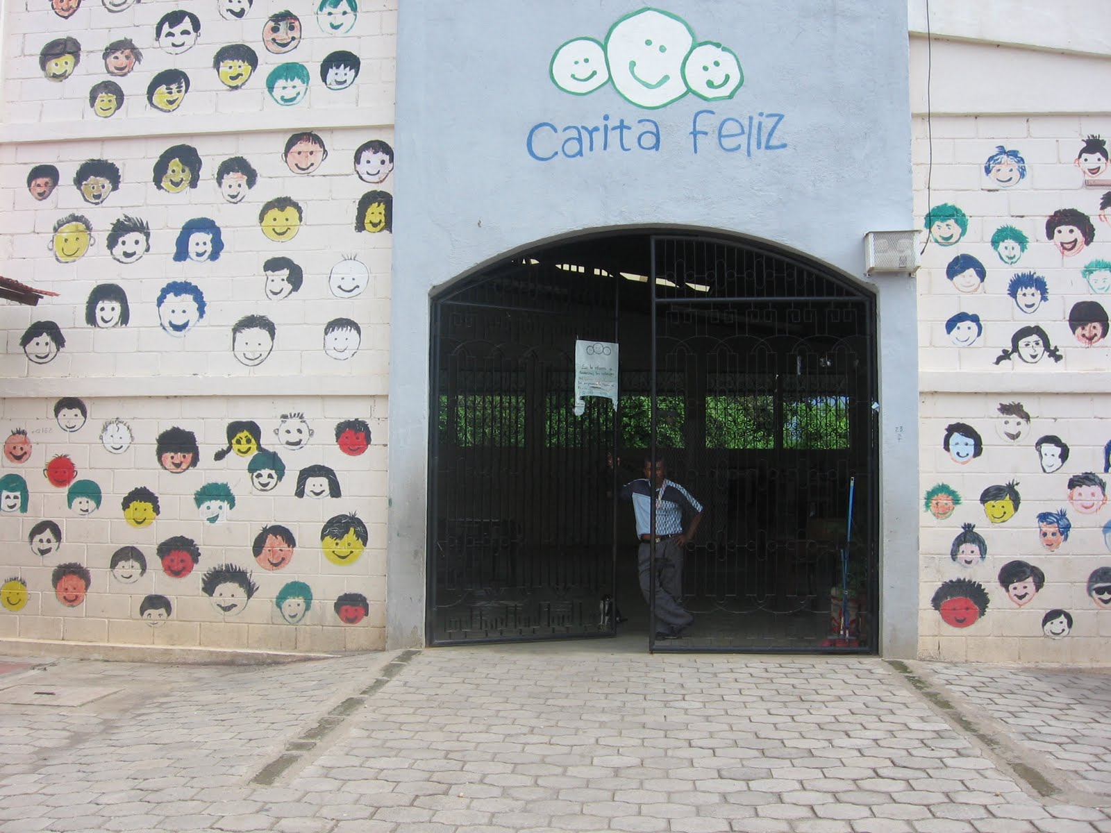 Carita Feliz Nicaragua Teacher From Carita Feliz
