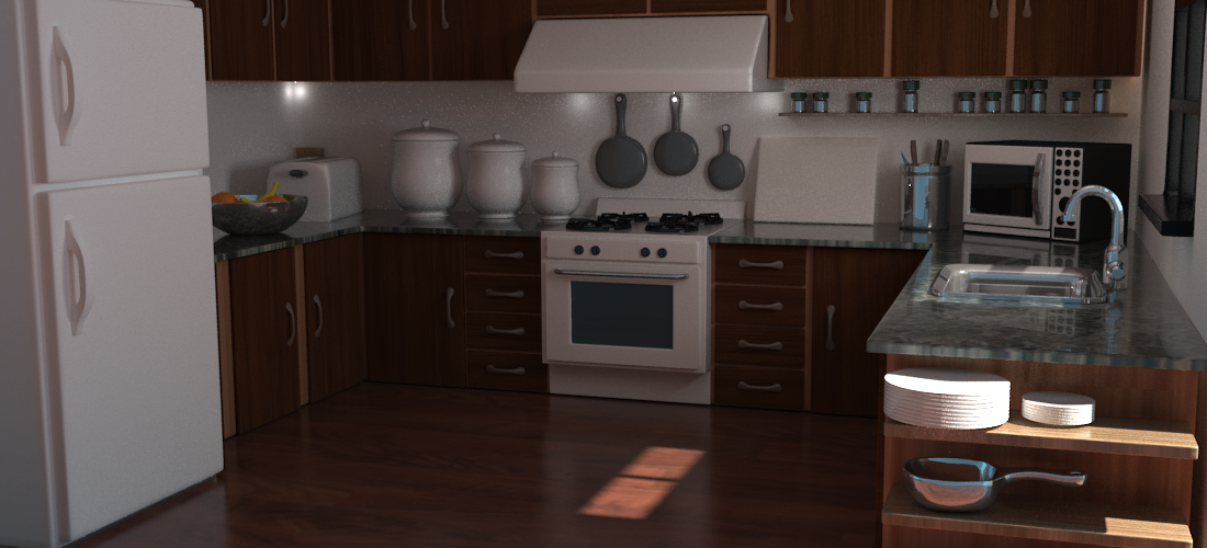 Kitchen in YafaRay [Archive] - Blender Artists Community