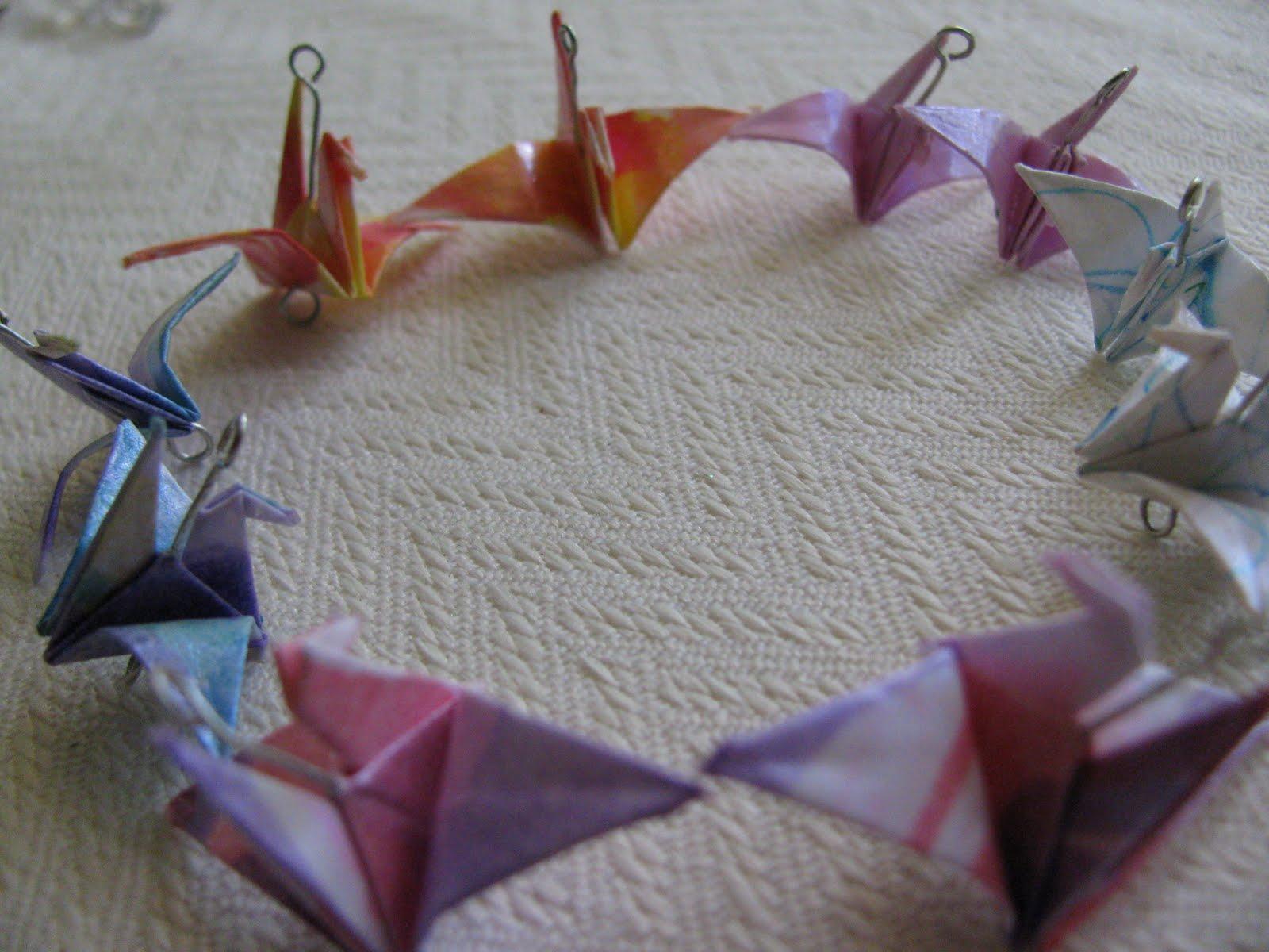 how to make origami earrings waterproof