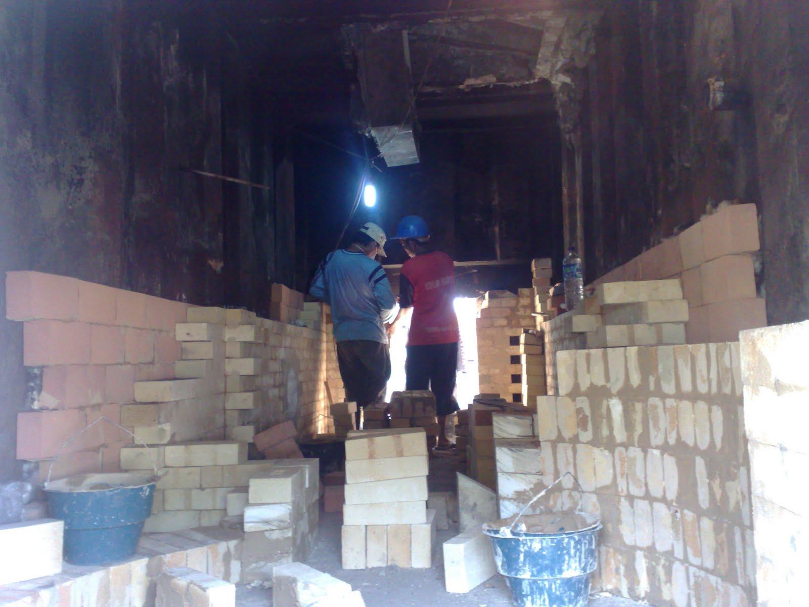 Laying Fire Brick For Fireplace : Cv mekarjayateknik project refractory insulation