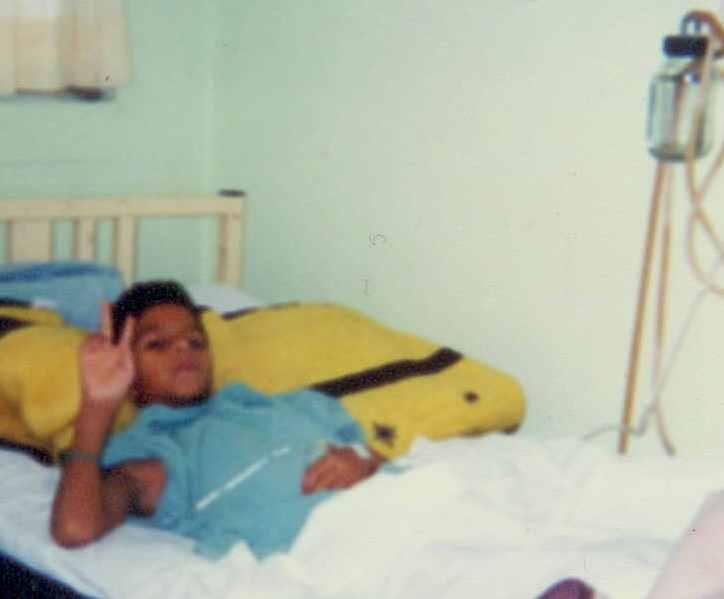Eduardo Salazar, an 11 year old boy with HLH Syndrome, de villa union, durango, mexico