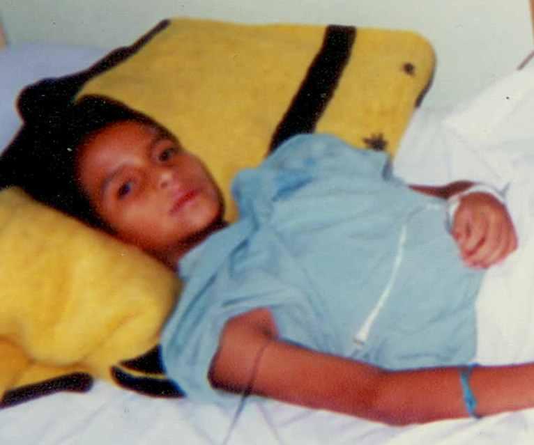 Eduardo Salazar, an 11 year old boy with HLH Syndrome, de ...