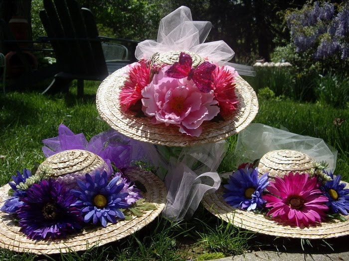 Guest post giveaway tea time for toddlers my insanity for How to decorate a hat for a tea party