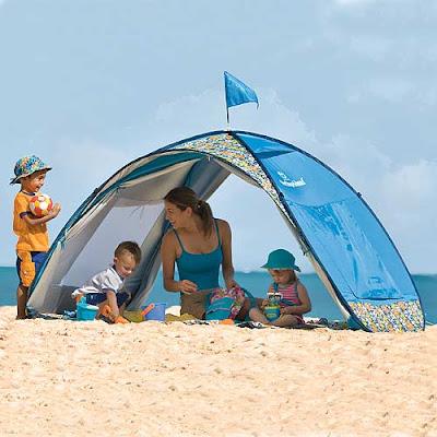 Family Beach Cabana Tent with UPF 50 +