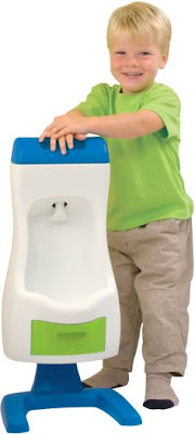 Peter Potty - the world's only flushable toddler urinal