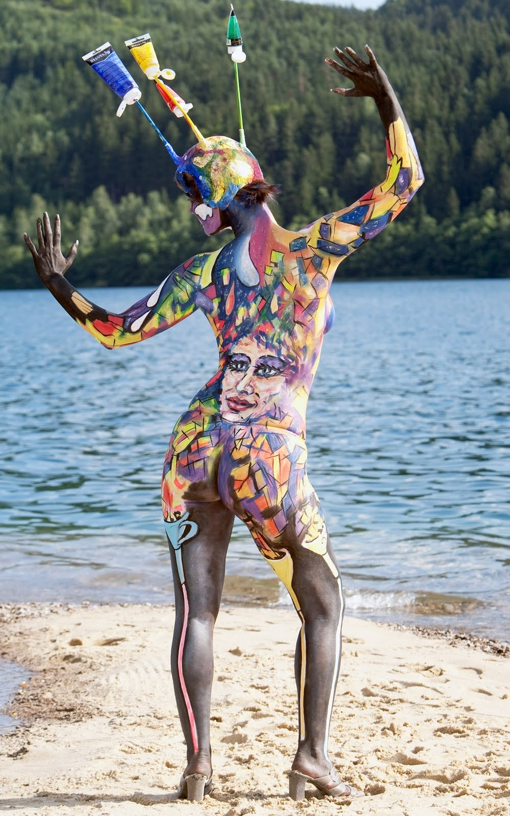 high resolution wallpapers & movies: bodyart-vertical hq