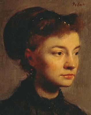 Testa femminile, 1867,  Rose Adélaide Morbelli Sartre