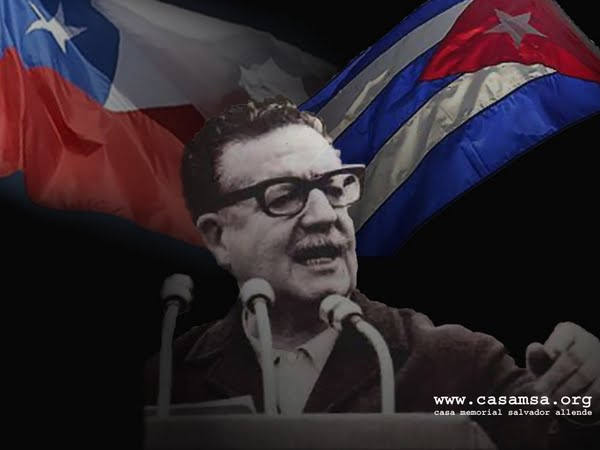 Con Allende en la Memoria