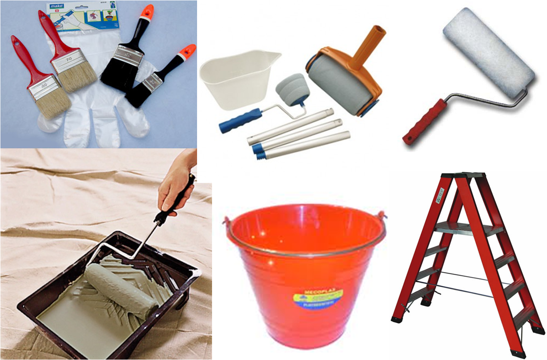 Construcci n acabados pinturas e impermeabilizantes - Utensilios para pintar paredes ...