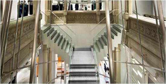 Construcci n acabados escaleras for Escaleras de aluminio usadas