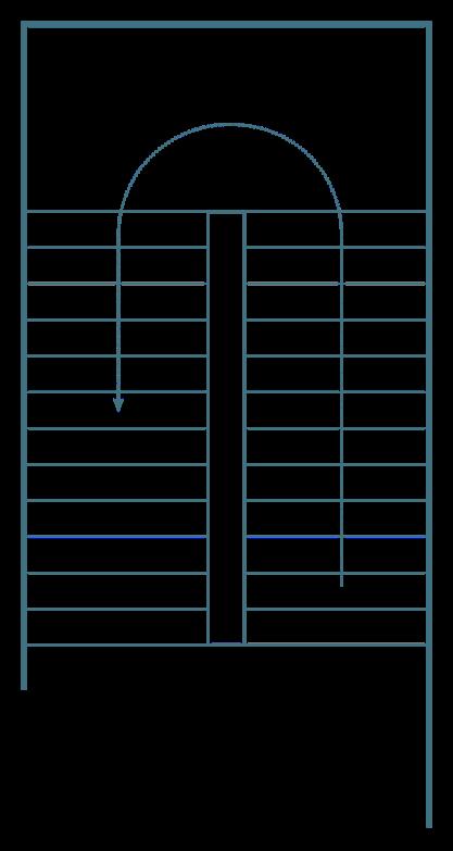 Construcci n acabados escaleras for Escalera un tramo