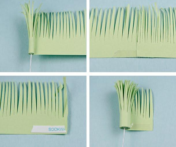 Красивые бумажные