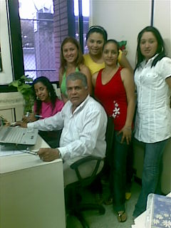 En acesoria con el profesor William