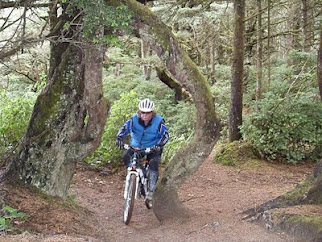 Bikes 101 Florence Oregon Tim can ride a bike