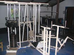 Completa maquinaria....(sala de máquinas)