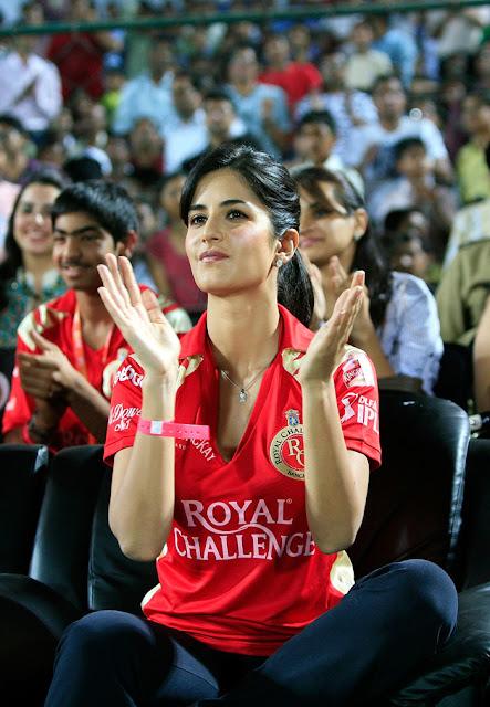 Katrina Kaif attends RCB's Match in Jaipur : HQ  Pics