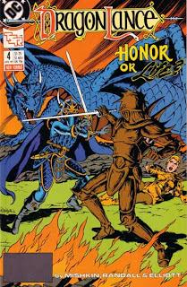 DC/Dragonlance comic, issue 4