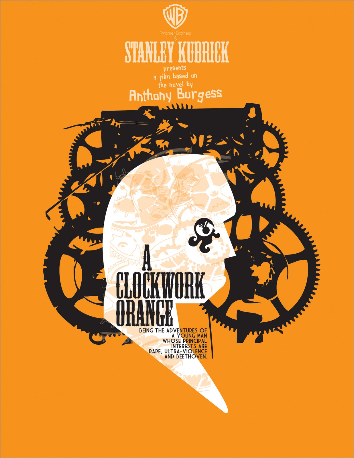 psychology clockwork orange Excerpt from term paper : psychopathology in popular film a clockwork orange psychology -- abnormal psychopathology symptoms have been analyzed through various movies but the movie a clockwork orange has raised several deep philosophical questions that are still unanswered this movie reflected the dilemma that an increase in moral leads to a decrease in freedom.