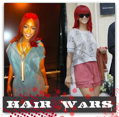 Will this red hair be a fad,