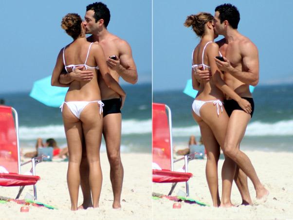 Sophie Charlotte aproveitou o dia de sol com o namorado, Malvino