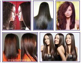 Rebonding Hair Style