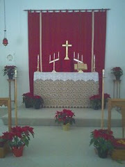 Simple Anglican Altar