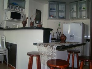 Área interna do apartamento