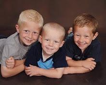 my boys . . .