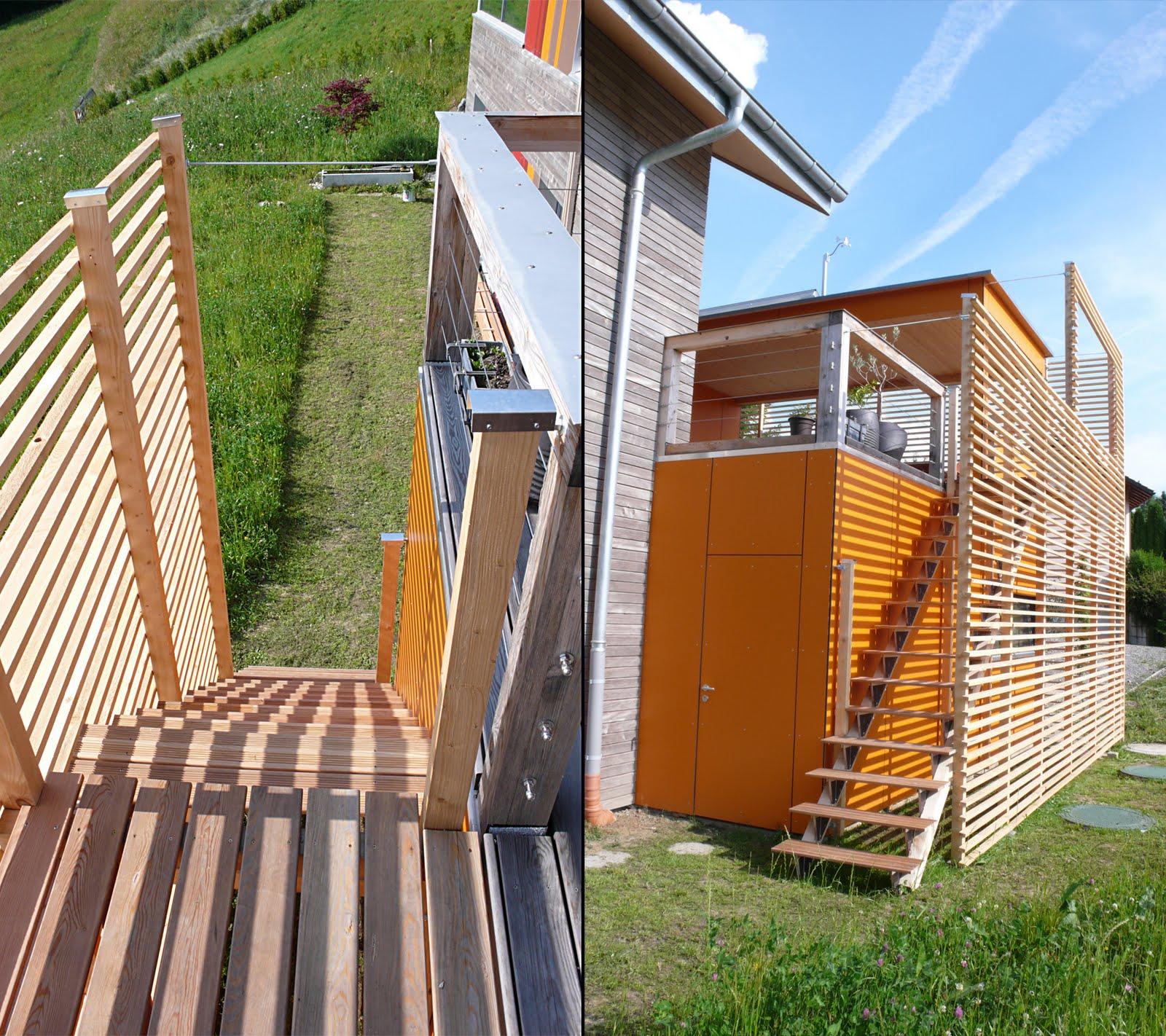 L 39 annexe est termin e construction d 39 une maison minergie for Cout annexe construction maison