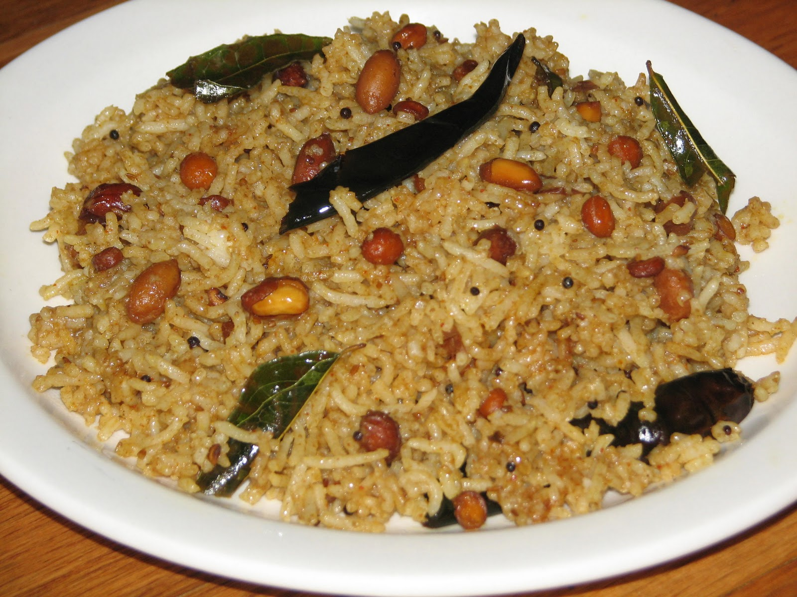 Seema's Veg Kitchen: Tamarind Rice