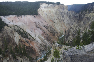 Artist Point, Yellowstone canyon