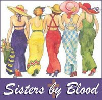 I'm Proud to be a part of Sisters by Blood. Thank you, Sharon