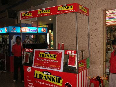 Tibbs Frankies restaurant, Begumpet, Hyderabad