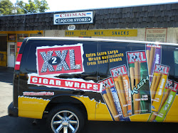 NEW STORES THROUGHOUT NORTHERN CA NOW CARRY XXL CIGAR WRAPS!
