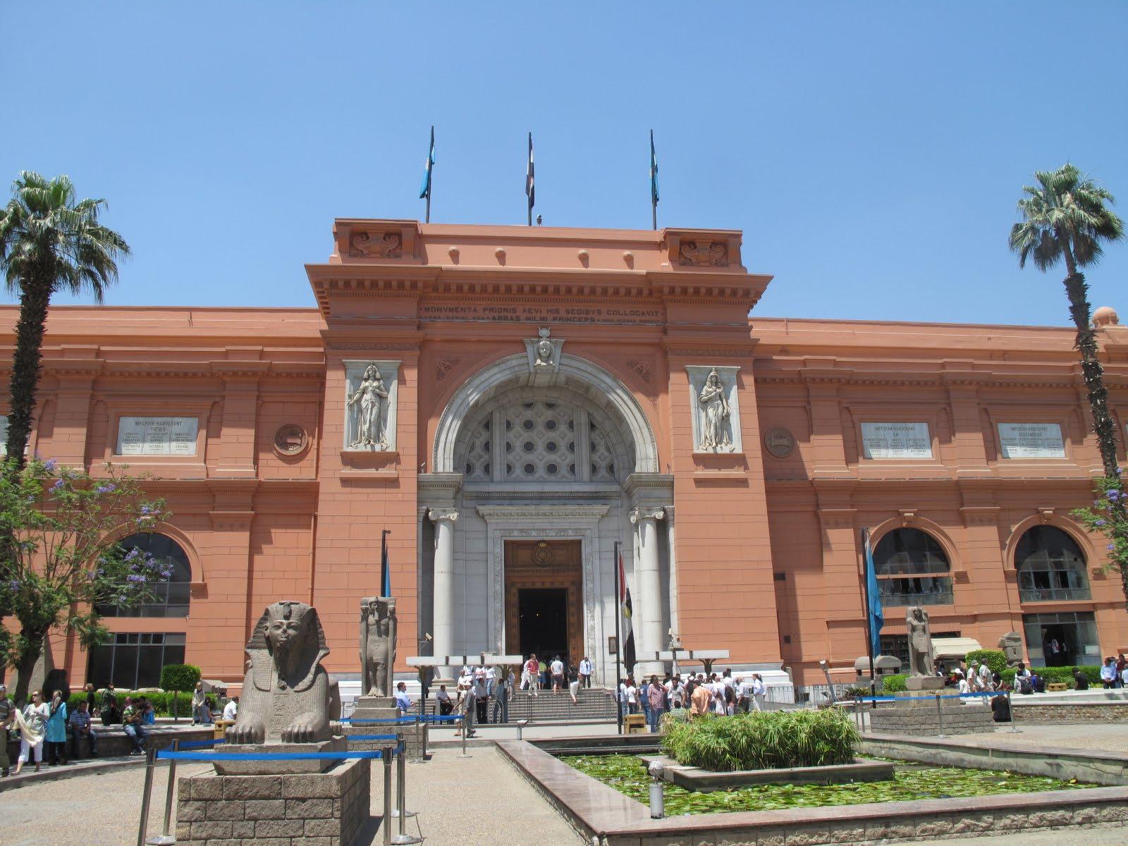 museo nacional cairo: