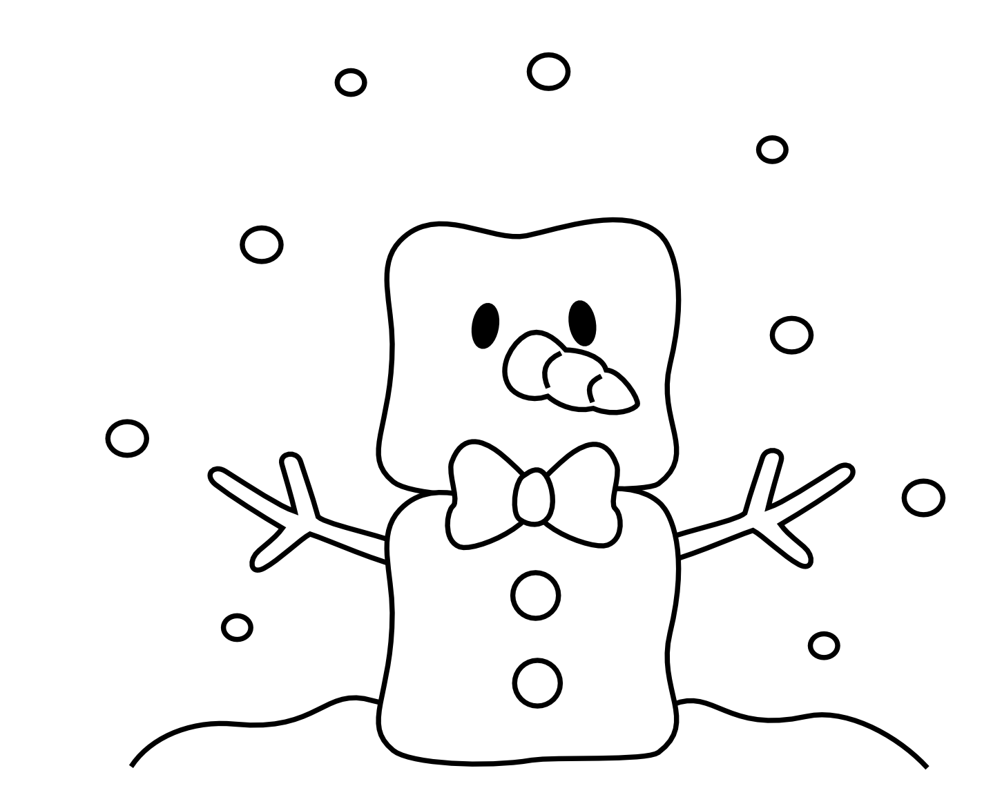 Free digi 39 s for handmade cards on pinterest digital for Cute marshmallow coloring pages