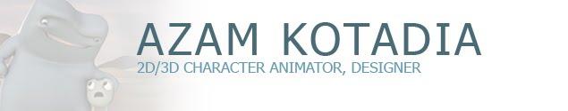Azam Kotadia Portfolio