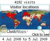Archived Clustr Map