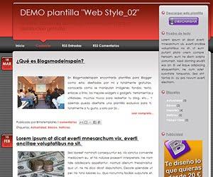 Descargar plantilla Web Style_02