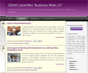 Descargar plantilla Business Web_01