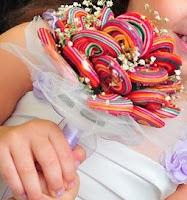 coloridos2 Bouquet de Pirulitos   Novidades para Casamento!