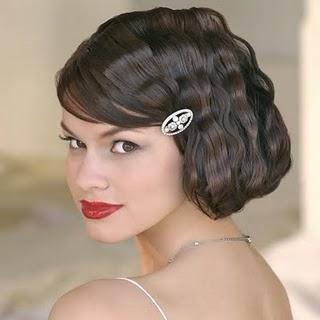 penteados+de+noiva+ +apliques+6 Penteados Madrinhas e Noivas   Cabelos Cacheados ou Enrolados