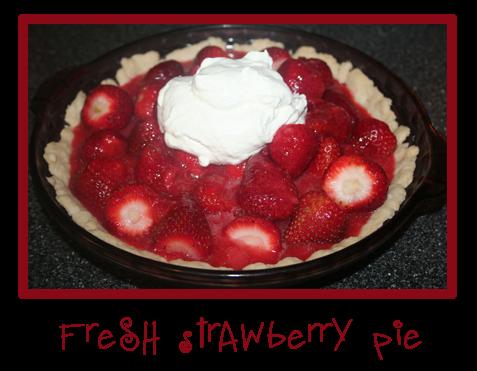 Erika's Sweet Tooth: Fresh Strawberry Pie