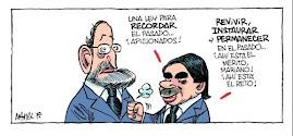 Rajoy y Ansar los mismos fascistas son