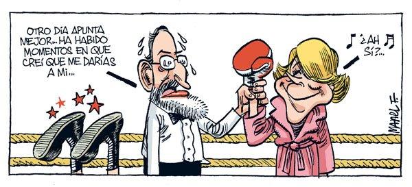Rajoy y la Marquesa