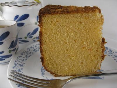 Asian Chiffon Fruit Cake