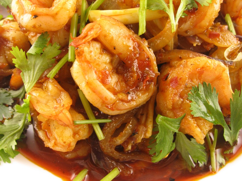 is sambal shrimp i used sambal tumis to make sambal shrimp it s taste ...