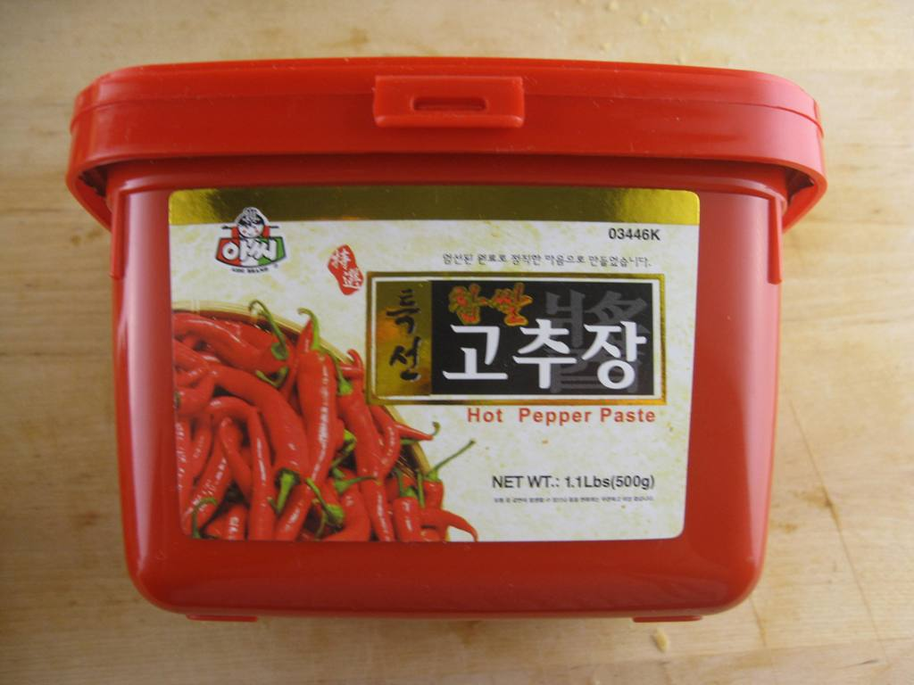 korean pepper paste