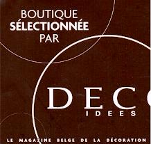 Boutique sélectionnée par Déco idées